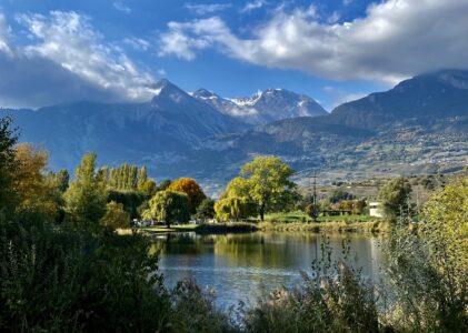 Lavey-les-Bains / Vernayaz (Cascade de la Pissevache et Gorges du Trient) / Sion (Domaine des Iles) / Saint-Léonard (Lac souterrain) / Sion (Lac du Mont d'Orge)