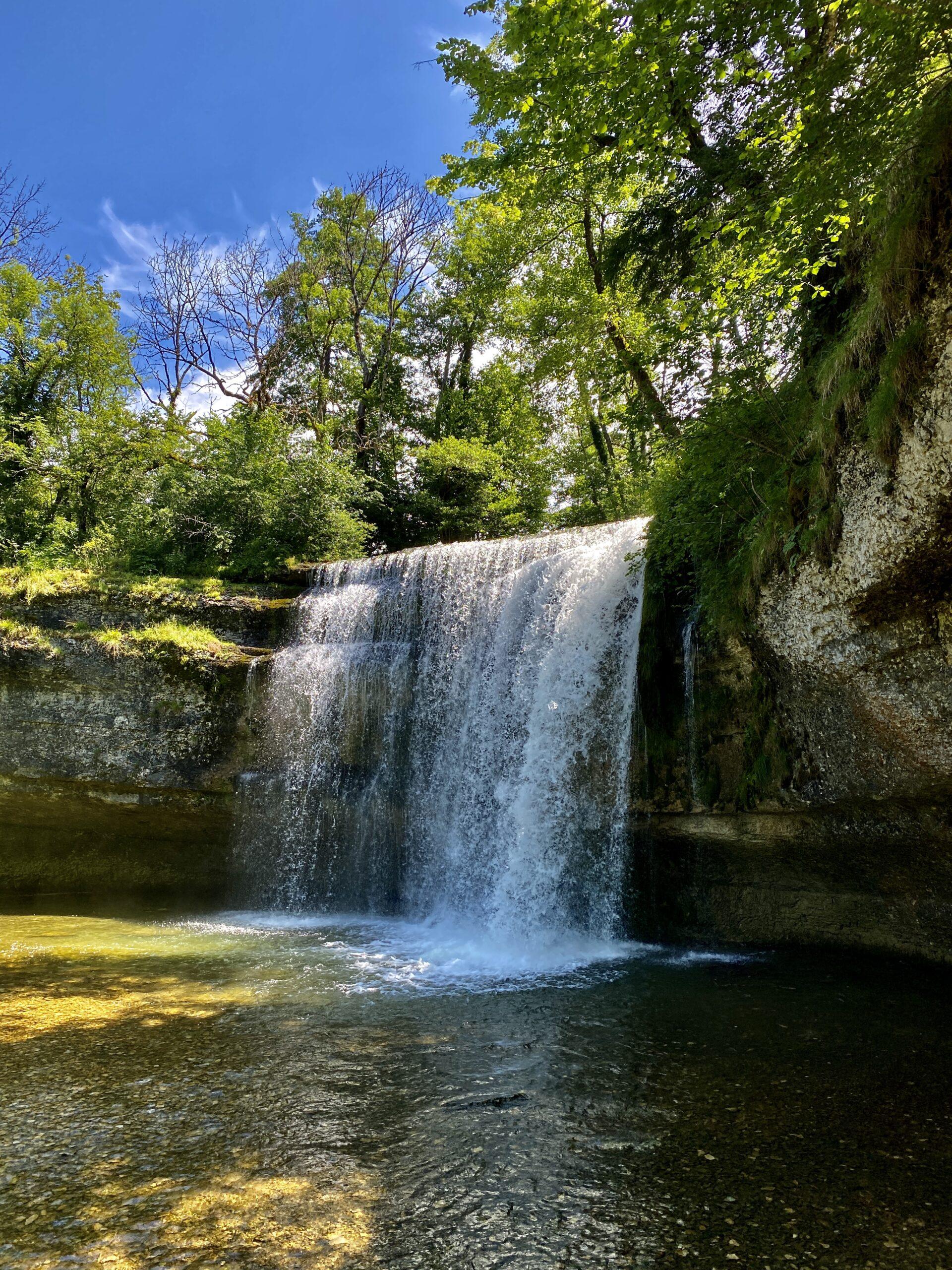 Le Frasnois (Jura) / Les 4 lacs / Cascade du Hérisson